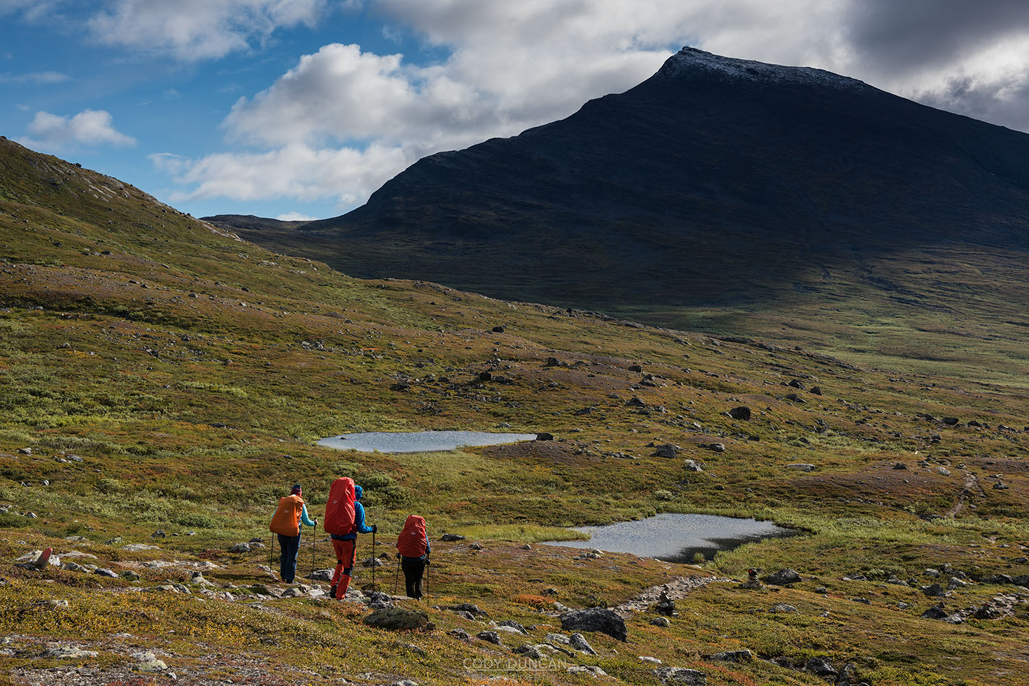 Kungsleden Trail hiking