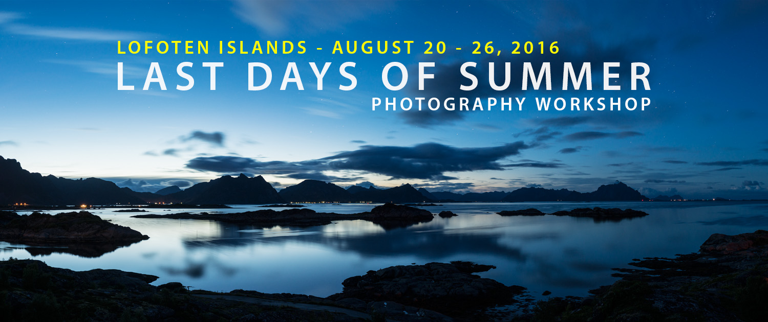 Lofoten Photo Tour - August 2016
