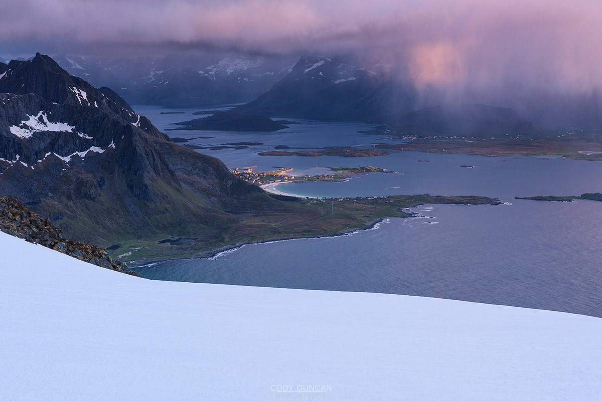 Lofoten photo tour - Midnight Mountain