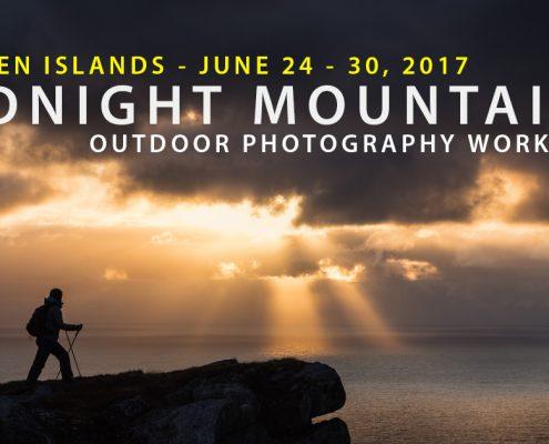 Lofoten Photo Tour - Midnight Mountains - June 2017