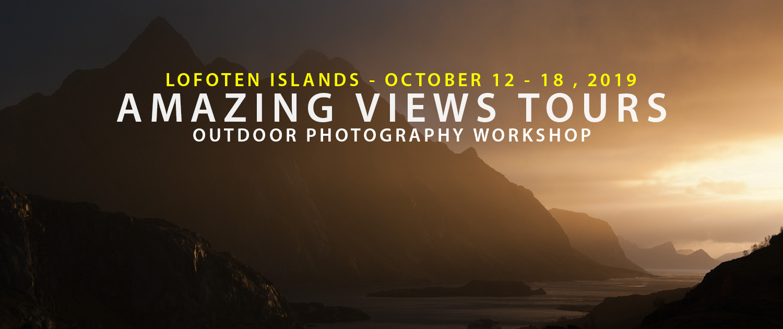 Lofoten Photo Tour - Amazing Views Tours Autumn 2018