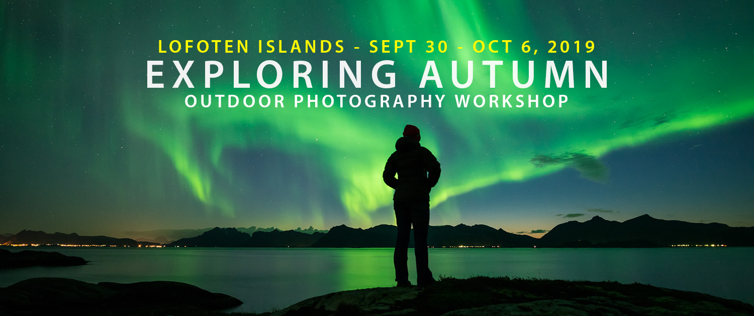 Lofoten Photography Workshop - Exploring Autumn 2019
